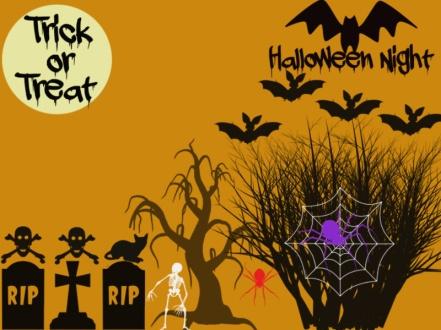 Halloween Paint Theme